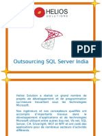 Outsourcing SQL Server India