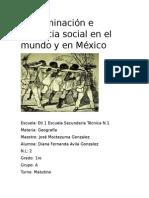 Discriminación e Injusticia Social en El Mundo y en México