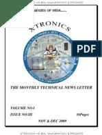 Xtronics Vol #01, Issue #03(Nov & Dec2009)
