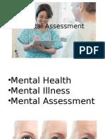 Mental Assessment