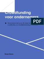 DK - Crowdfunding in NL 2014 Ondernemers