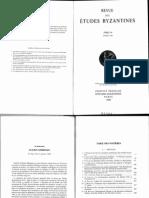 A.failler, La Proclamation Impériale de Michel VIII Et D'Andronic II