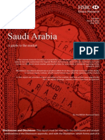 Saudi Arabia a Guide to the Market by HSBC