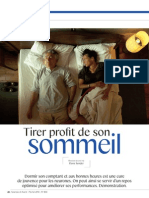 S&A - Février 2014 - Dossier Sommeil