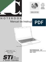 Manual Notebook STI Infinity NA 1401
