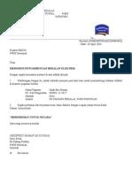 Surat Penyambungan Bekalan Elektrik