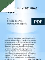 Novel 'Melunas Rindu'