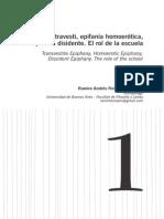 Epifania travesti, epifania homoerótica