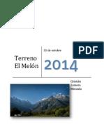 Cartografía El Melón - Nogales