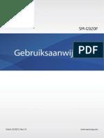 Samsung Galaxy S6 User Manual SM G920, Lollipop, Dutch (Netherlands)