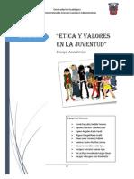 Ensayo Academico Etica La Juventud