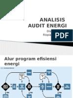 Analisis Audit Energi