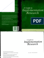 A Guide to Implementation Research