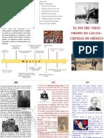 Triptico sobre el Fin del Viejo Orden en las Haciendas de México (1911-1913)