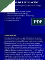 Lixiviación-Técnicas de Lixiviación