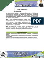 Evidencia 1-Conceptos Basicos de Microfinanzas