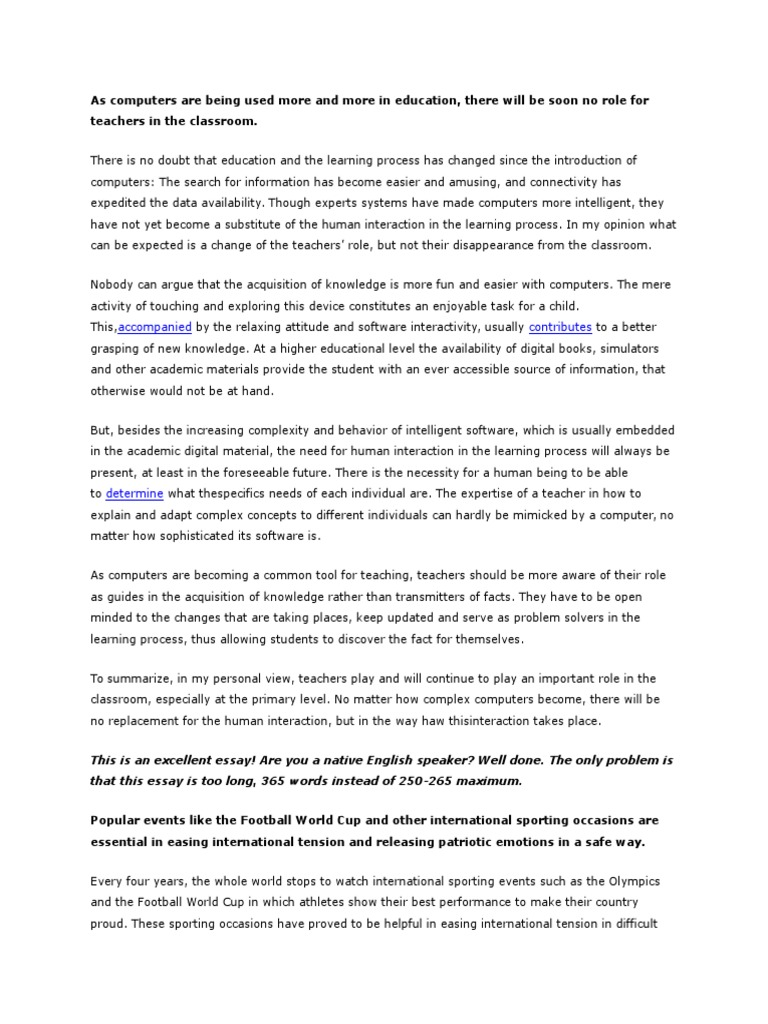 essay on being open minded
