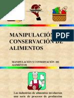 Presentacion Manipulacion alimentos