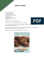 CHOCOLATE ALMOND COOKIES.docx