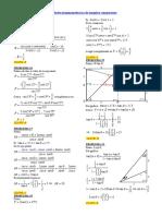 Identidades trigonométricas de angulos compuestos