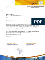 Carta Mensajeria Confidencia Mc