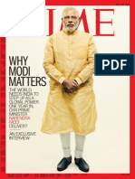 Narendra Modi - Time Article