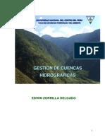 Gestion de Cuencas Hidrográficas - E.zorrilla