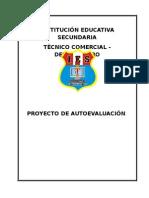 PROYECTO DE AUTOEVALUACIÓN 2013.doc