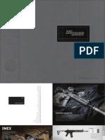 2015 Sig Sauer Catalog