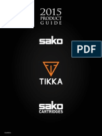Beretta - Sako 2015 Rifle Product Guide
