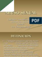 Abuso Sexual