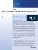 EAM for Manufacturing