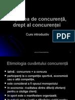 C_1_Noțiunea de Concurenta, Dr Al Concurentei