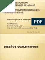 Diseños de Investigacion Cualitativa y Cuantitativa