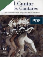 José Emilio Pacheco - Cantar de Los Cantares