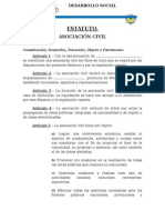 MODELO ESTATUTO ASOCIACION CIVIL SIN FINES DE LUCRO.docx