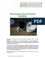 AGS Guide to Environmental Sampling
