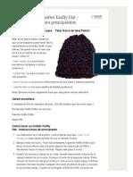 Cómo Hacer Un Knitter Knifty Hat - Patrón Gratuito Para Principiantes