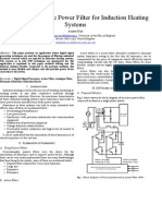 A DSP Based Active Power Filter for Induction Heating Systems