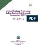 Itec Courses 2015 2016