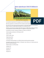 Perú Exporta Productos Agrícolas Por 5 Mil 335 Millones de Dólares en El 2014
