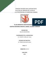 POI 2016 -PLAN OPERATIVO INSTITUCIONAL C.M.I.-D.A.C.