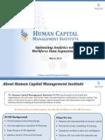 Optimizing Workforce Analytics with Workforce Segmentation