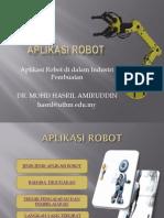aplikasi robotik