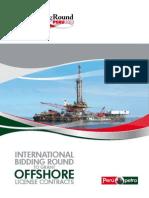 Internationa Bidding Round Offshore License Contracts