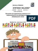 Experiencias Exitosas Claudia L Arevalos Vargas 2015