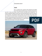 c&I-range Rover Evoque
