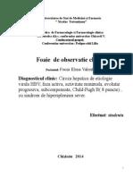 Fisa Farmacologie Clinica