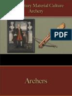 Sports & Sportsmen - Archery