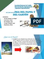 Industria Del Papel y El Cartón